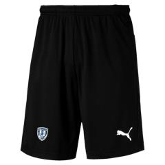 LIGA Short with Zip Pkts - Black-White